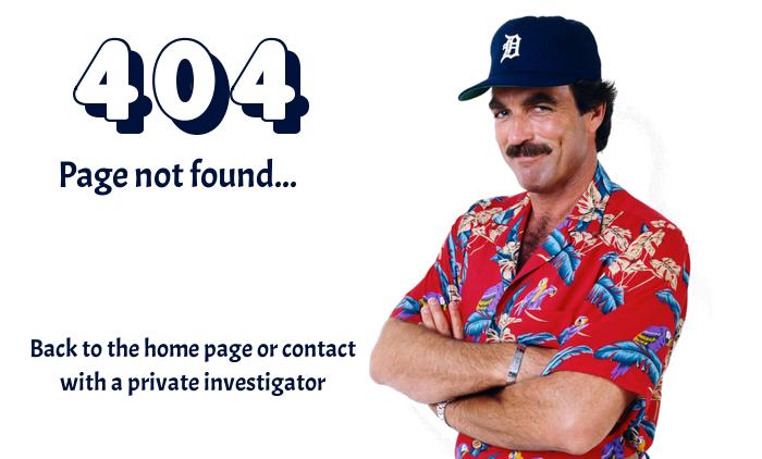 Error 404: Páge not found