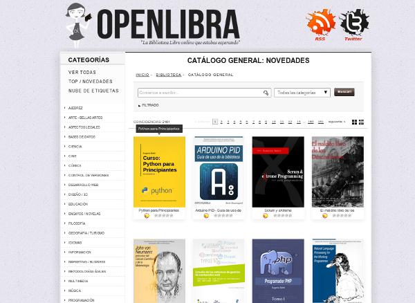 Web de OpenLibra.