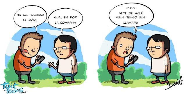 Humor smartphones