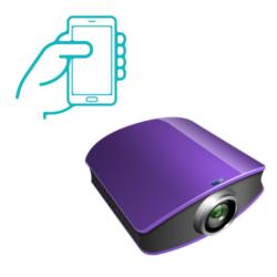 Del móvil al proyector