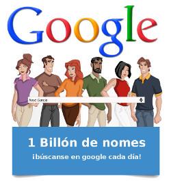 Infografía: Búscate a ti mesmo en Google
