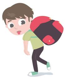 Cuidado con las mochilas