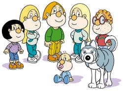 Animaciones educativas para los más pequeños: Os Bolechas, Algarabía y Os Axóuxeres