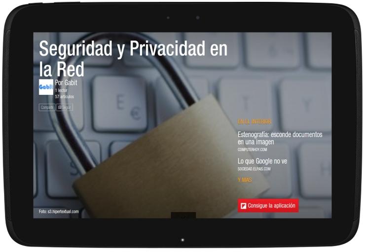 Portada da revista Seguridade e privacidade na Rede
