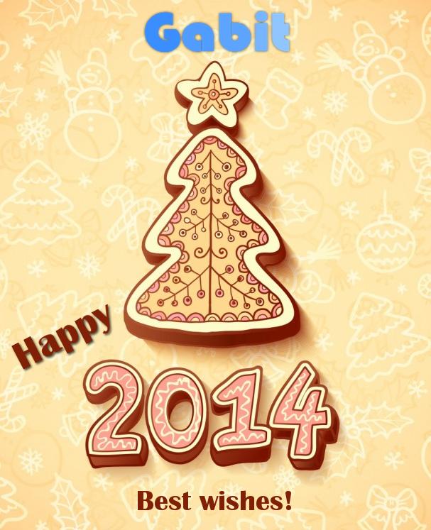 Happy new yer 2014 Postal!
