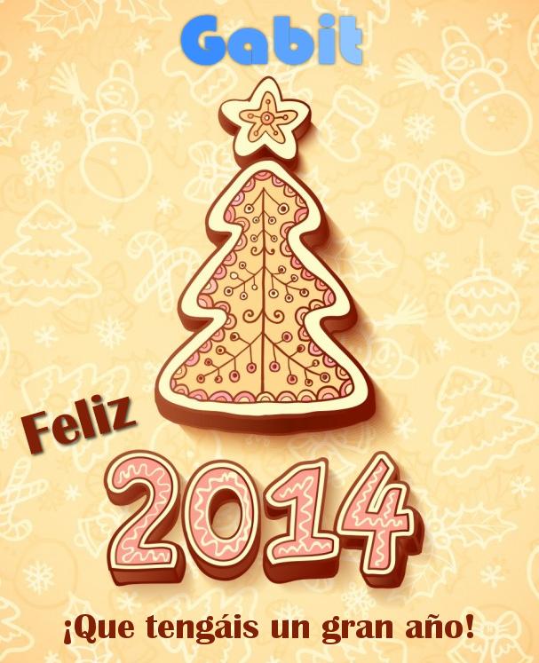 Postal feliz 2014!