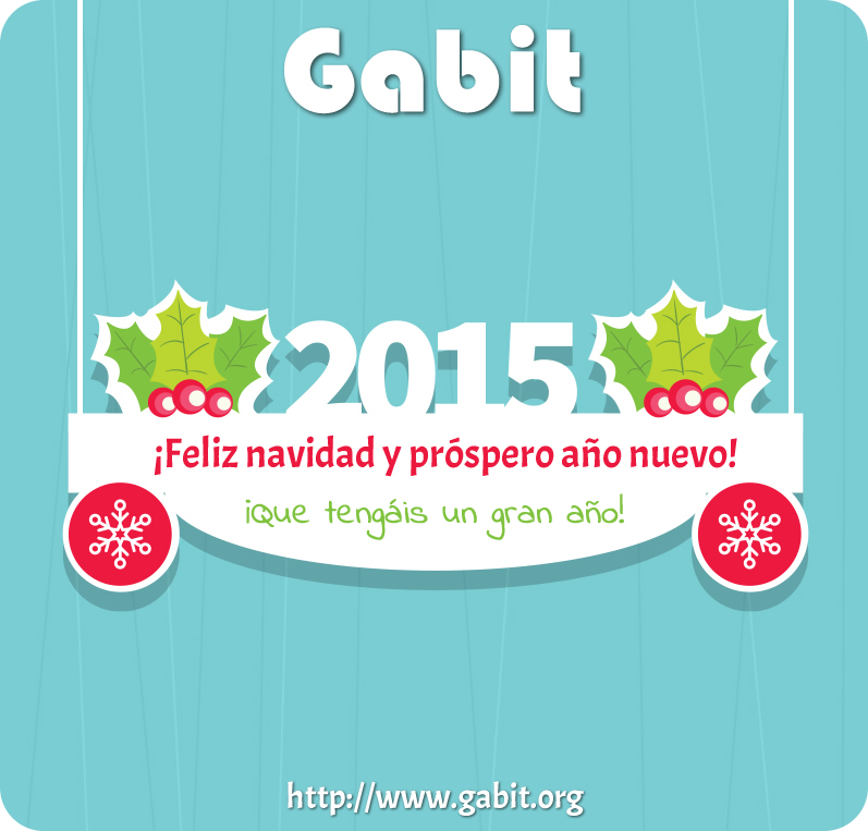 Postal feliz 2015!