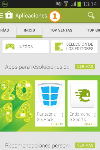 Instalación Android 1