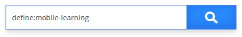 Caja de búsqueda tipo definición