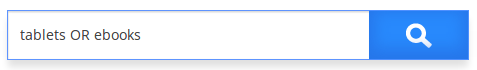 Caja de búsqueda con Operador Lógico