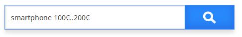 Caja de búsqueda tipo rango