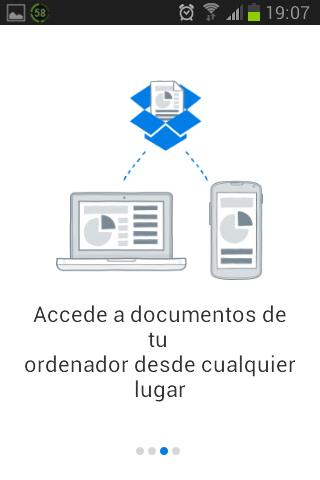 Captura de Dropbox