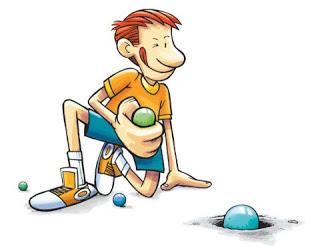 Xogo das bólas: O gua