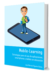 Portada do ebook Mobile-Learning. Estrategias para el uso de aplicaciones, smartphones y tablets en educación