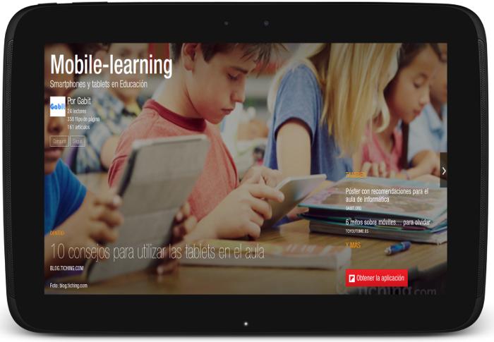 Smartphones y Tablets en educación